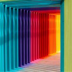 A colorful tunnel to improve SEO